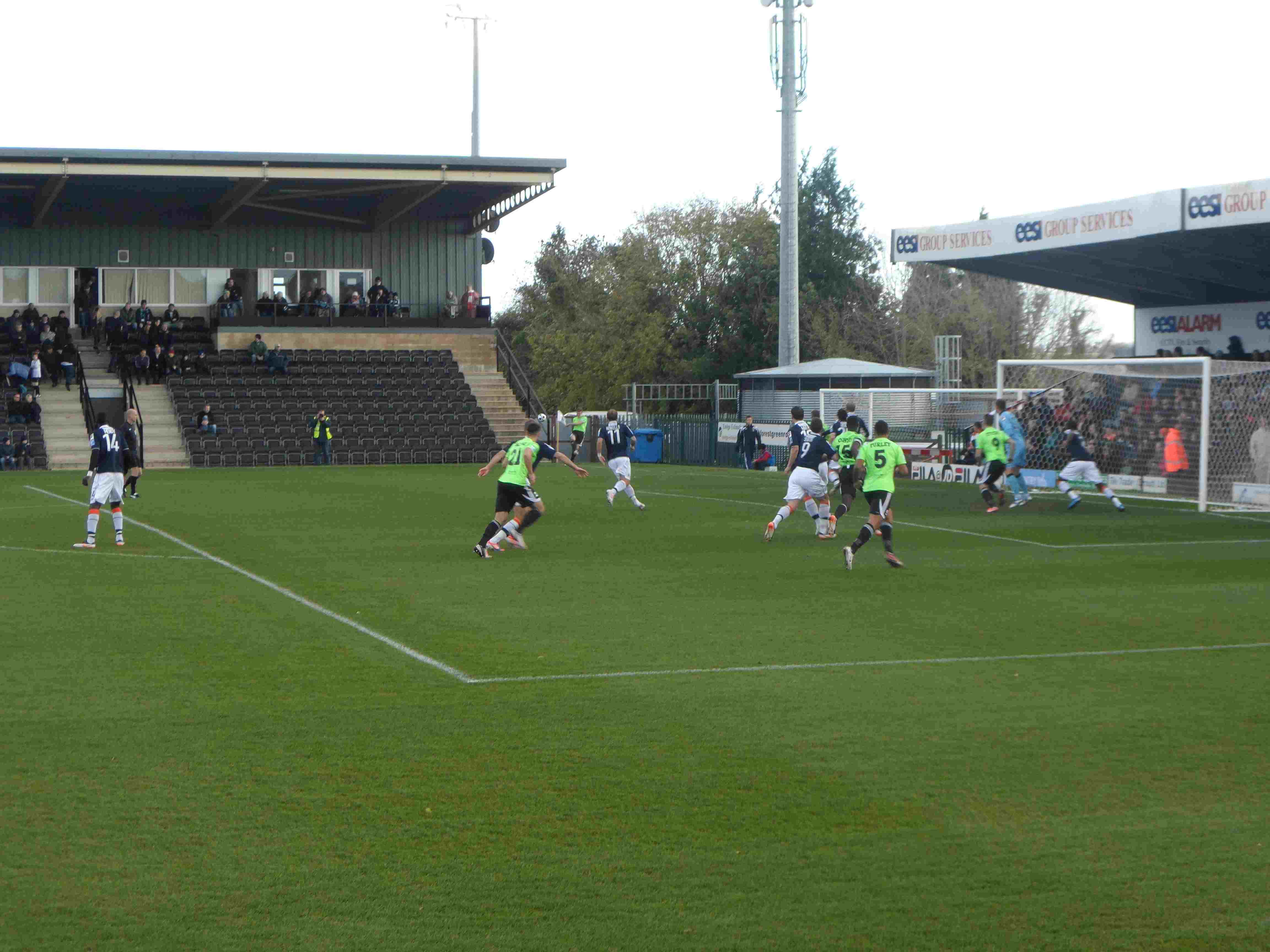 Forest Green Rovers Football Club vs. Luton Town Football Club